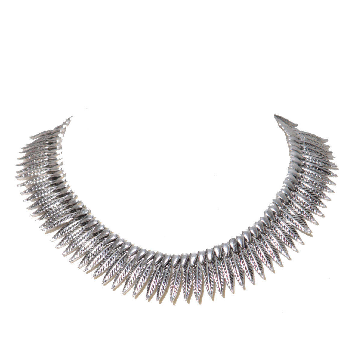 Metal Feather Necklace Preview